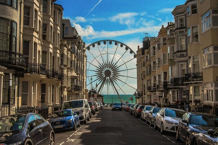 Candice, on a stay in Brighton :